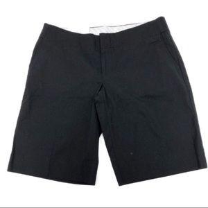 Gap hip slung fit dressy black shorts bermuda  2